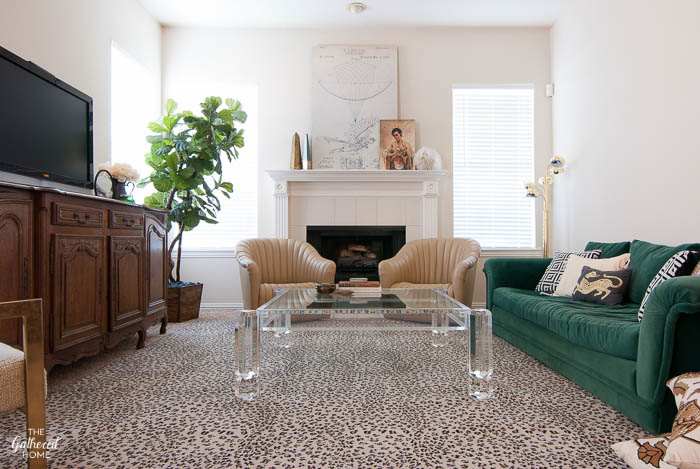 Embracing Beige: Living Room