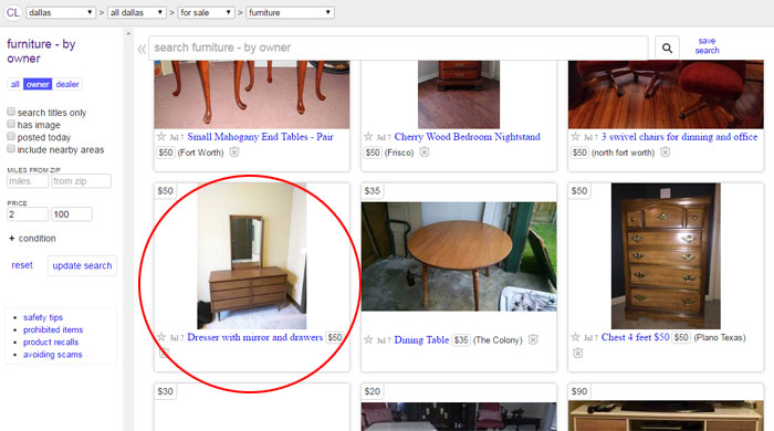 Craigslist San Diego Furniture For Sale By Owner Fabulous