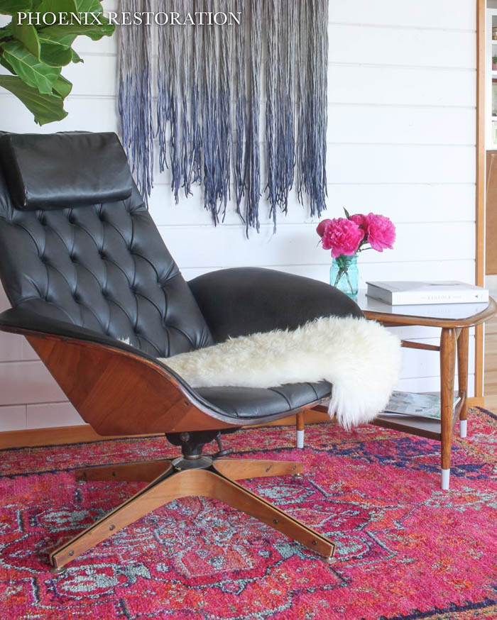 Thrift Score Thursday feature Mid Century Mulhauser chair via christina_phoenixrestoration