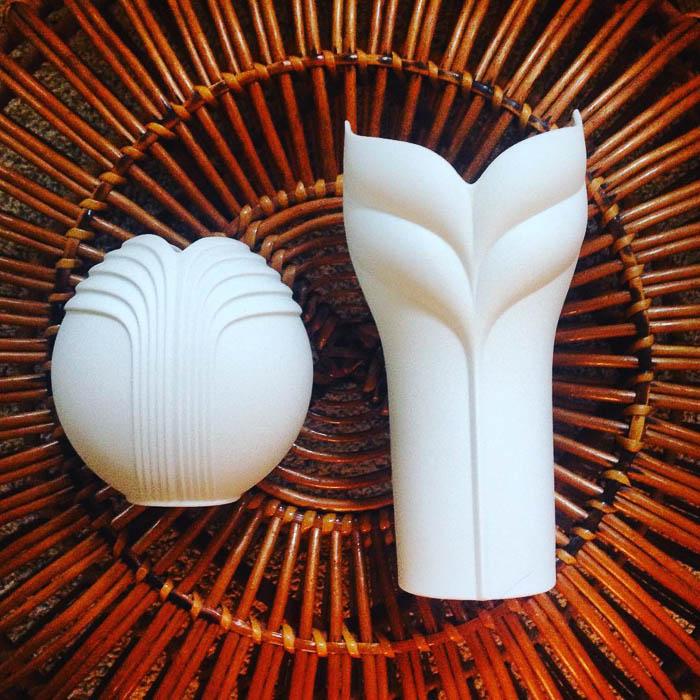 Thrift Score Thursday feature Rosenthal Uta Feyl vases via kpick89