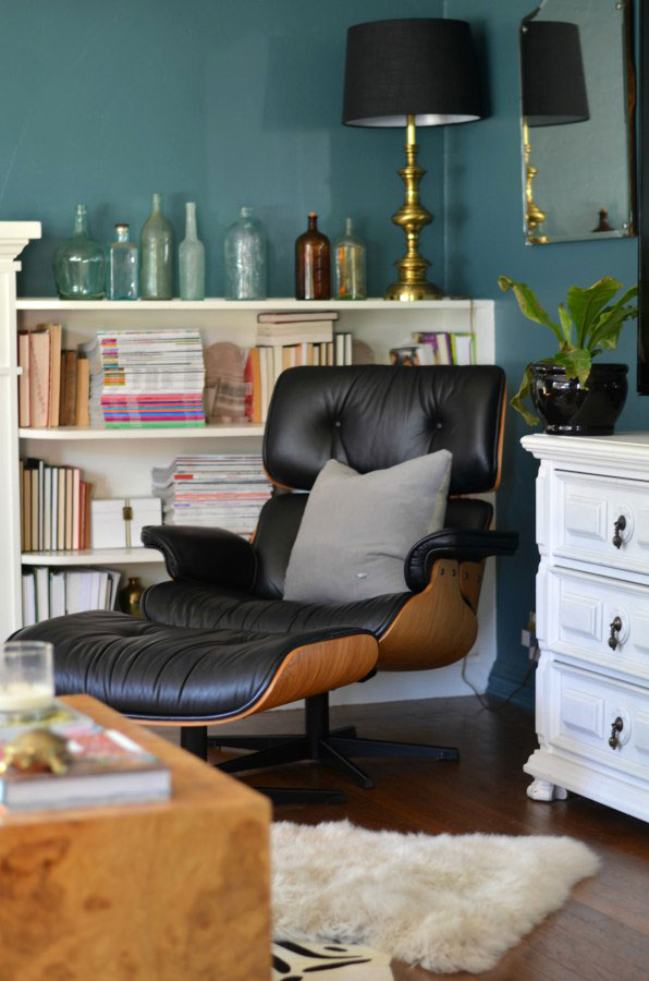 Vintage Eames Style Lounge Chair Via SG Style