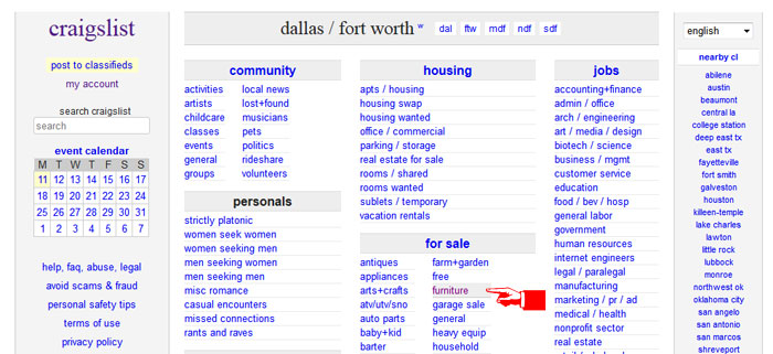 craigslist houston furniture by owner craigslist chicago furniture by owner craigslist phoenix