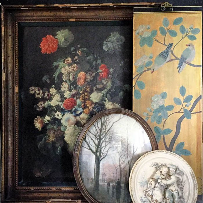 Thrift Score Thursday feature vintage art via ourgentlemadness