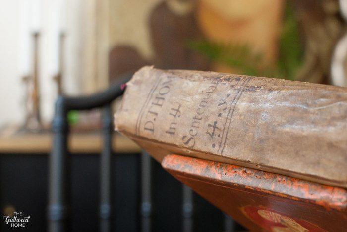 thrift-score-thursday-antique-1769-thomas-aquinas-leather-bound-book