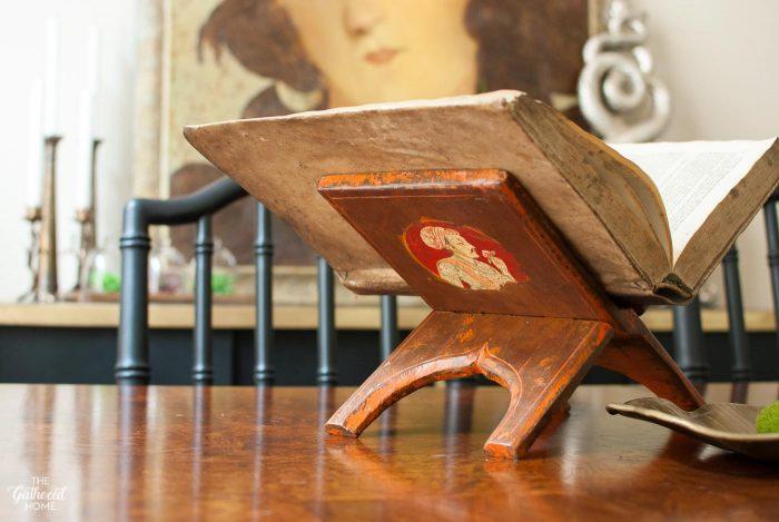 thrift-score-thursday-folding-wooden-book-stand