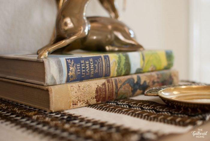 vintage-brass-antelopes-on-vintage-fairy-tale-books