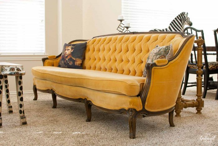 antique-tufted-yellow-meyer-gunther-martini-sofa