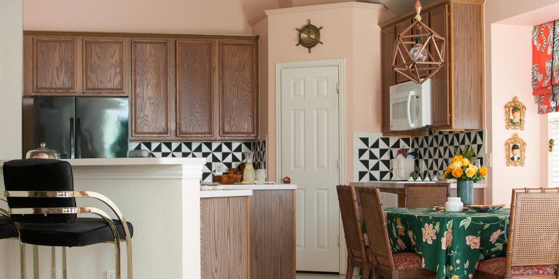 The Wild & Whimsical Pink Kitchen Reveal