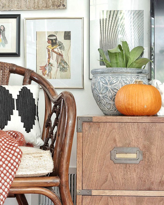 thrift-score-thursday-feature-rattan-chair-and-campaign-chest-via-fwmadebycarli