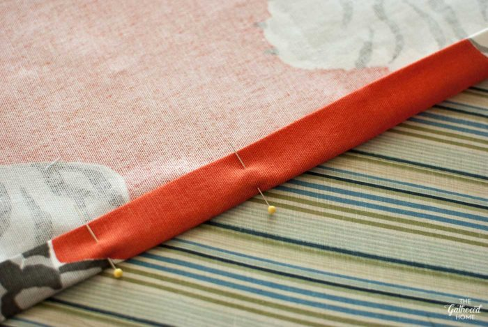 pin-hem-for-diy-roman-shade