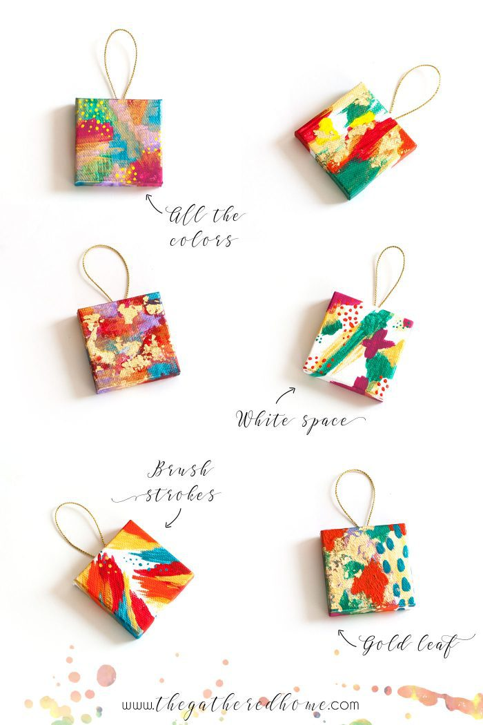 mini-painted-abstract-canvas-ornaments-designs