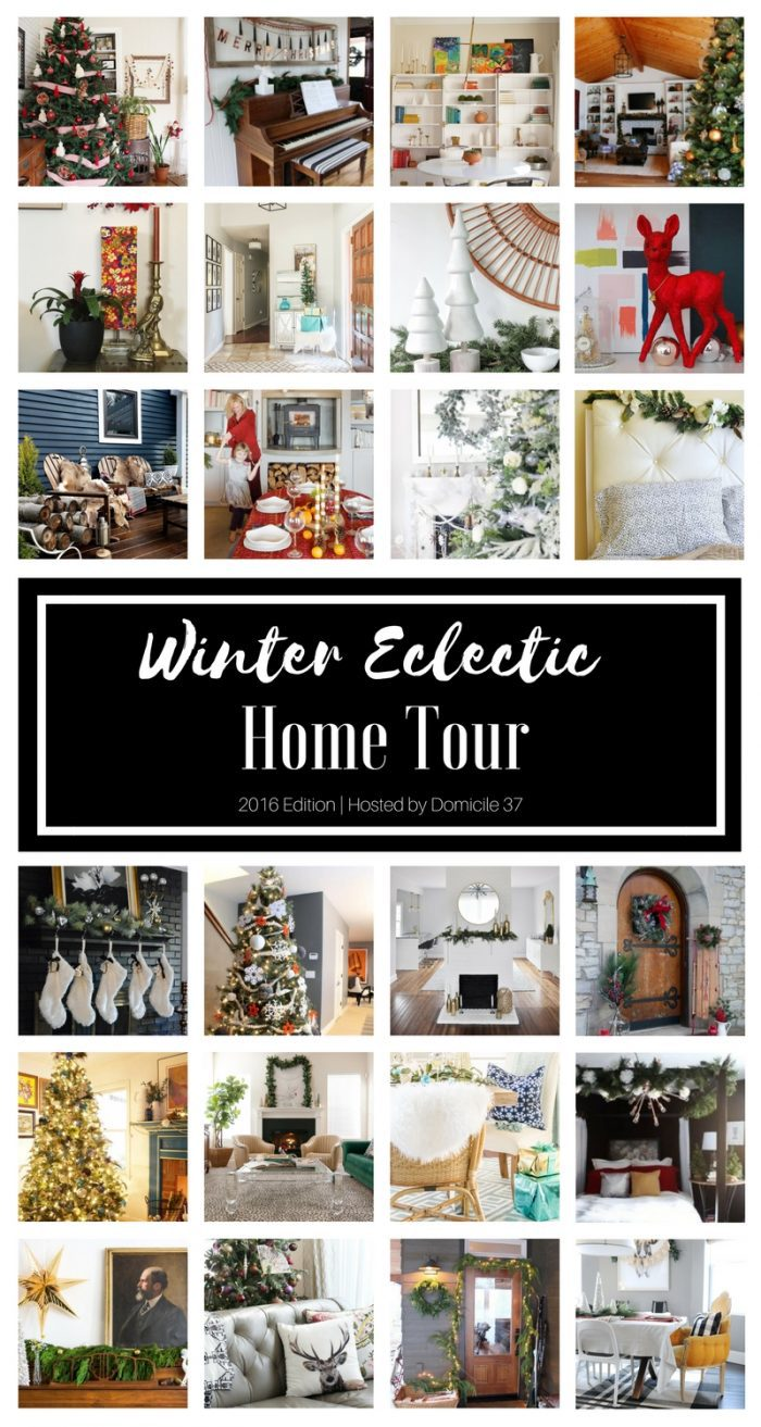 25 incredible holiday tours - NOT TO MISS!!! Tons of eclectic home decor inspiration!