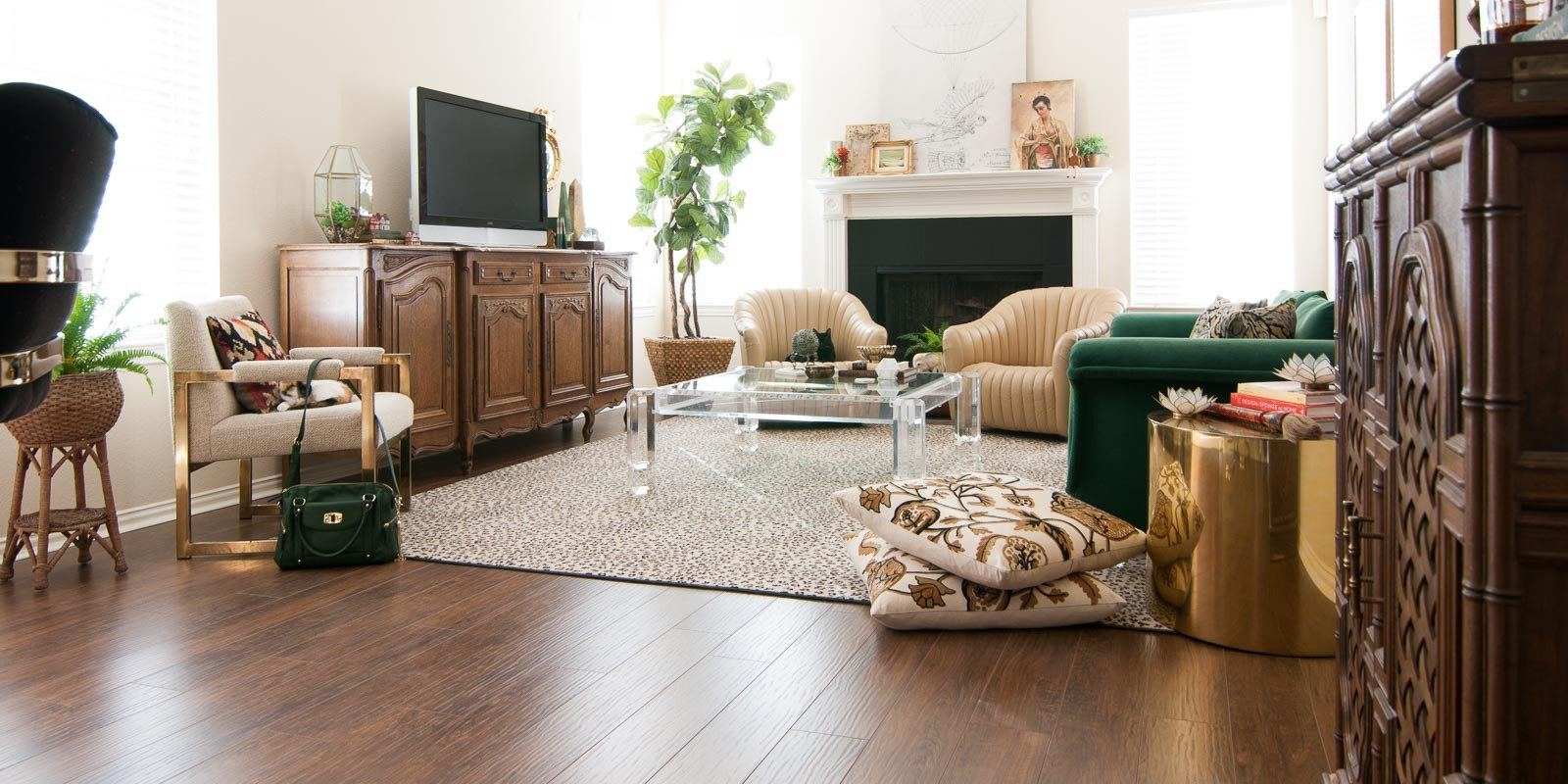 Secret Project Reveal Diy Laminate Flooring With Select Surfaces The Gathered Home