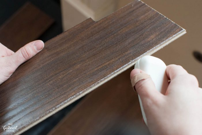 Secret Project Reveal Diy Laminate Flooring With Select Surfaces