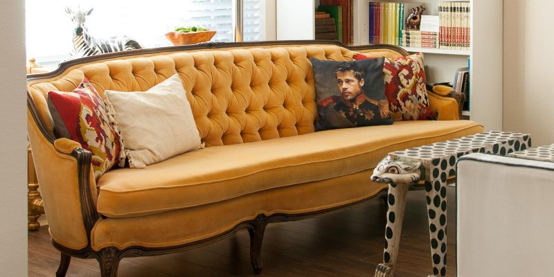 Spring Library Styling with Kilim Pillow Store