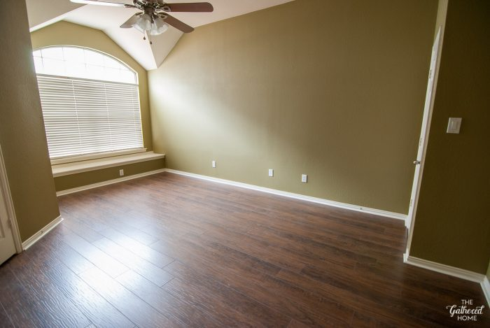 Master Bedroom Update: Ladies And Gents, We Have A Floor! - The Gathered Home