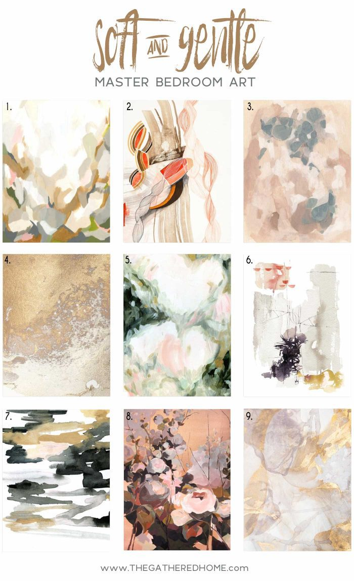 Looking for inspiration for mixing and matching the perfect soft and gentle art prints? You can't go wrong with these gorgeous combinations!