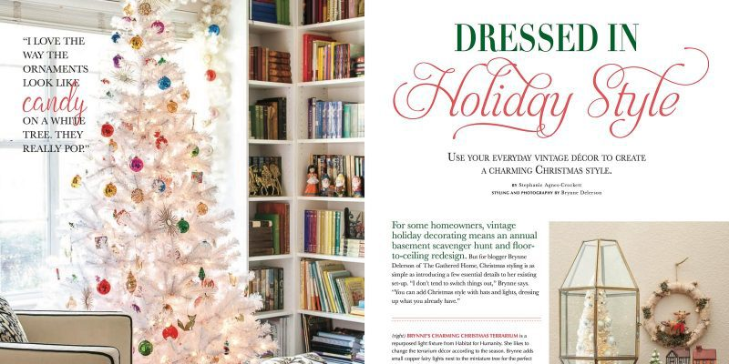 Featured in Vintage Holiday Magazine (and other news)
