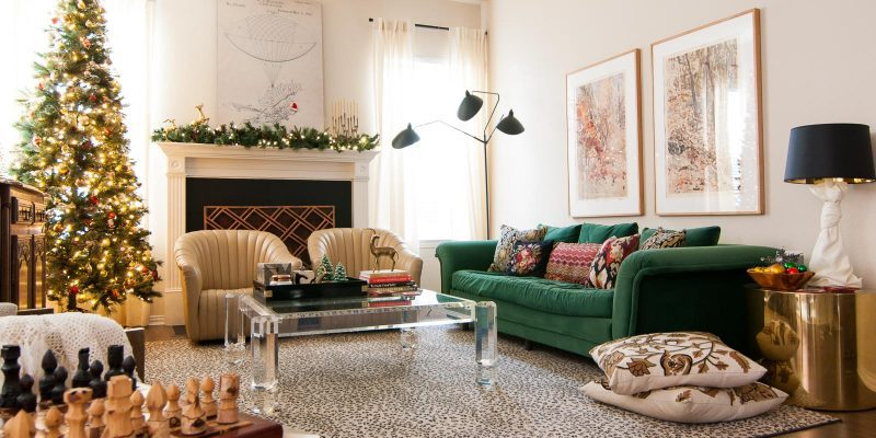 Holiday Glam Christmas Home Tour